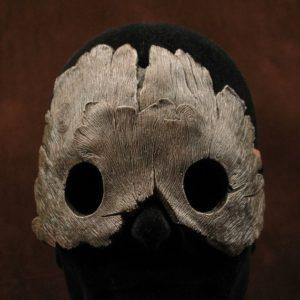 """Masque pièce unique """"Fougère"""", effet écorce d'arbre par Mickey Artworld"""