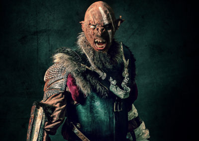 Costume orc - Photo Warped Galerie