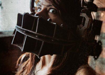 """Masque """"Saw"""" - Photo Warped Galerie"""