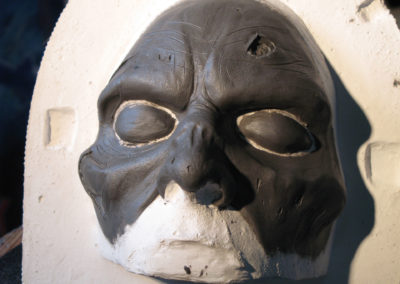 Sculpture masque 2